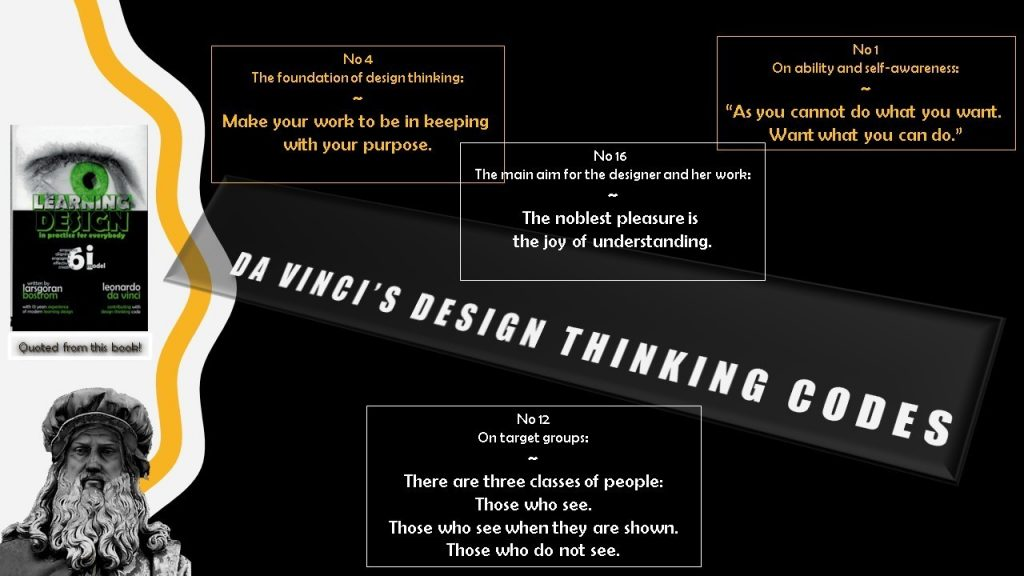 Design Thinking Codes and the 6iModel