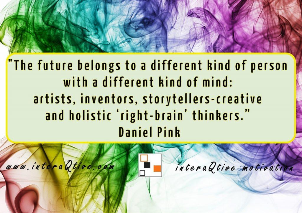 Creative storytelling mindset to create interactive books
