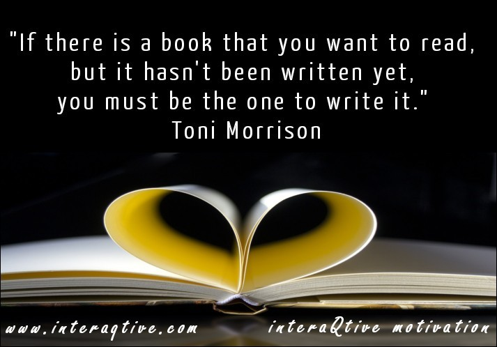 Write a Book! - #FridayInspiration