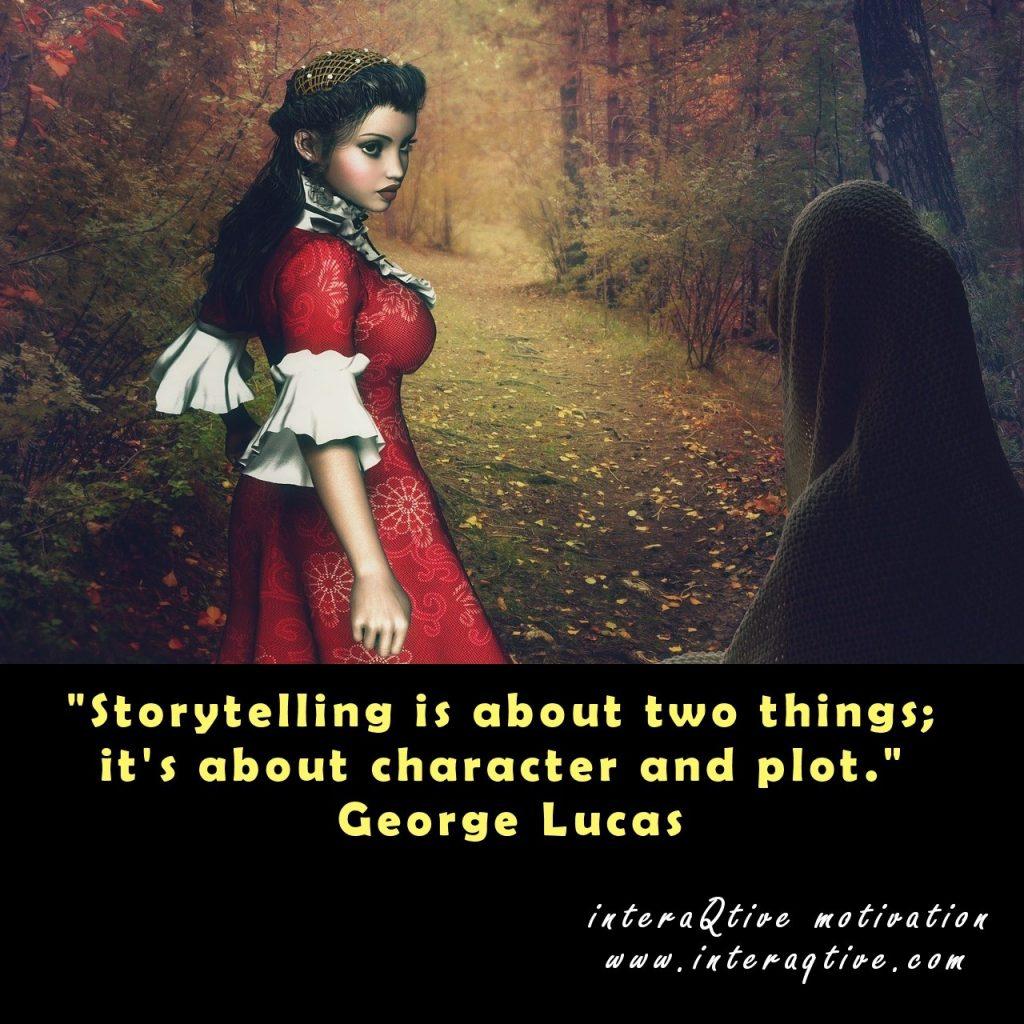Two basic storytelling points to reflect upon - #MondayMotivation