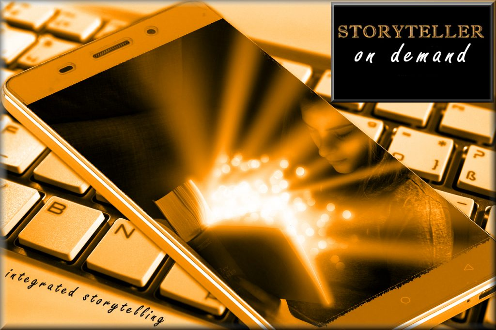 Storyteller on Demand to create interactive books