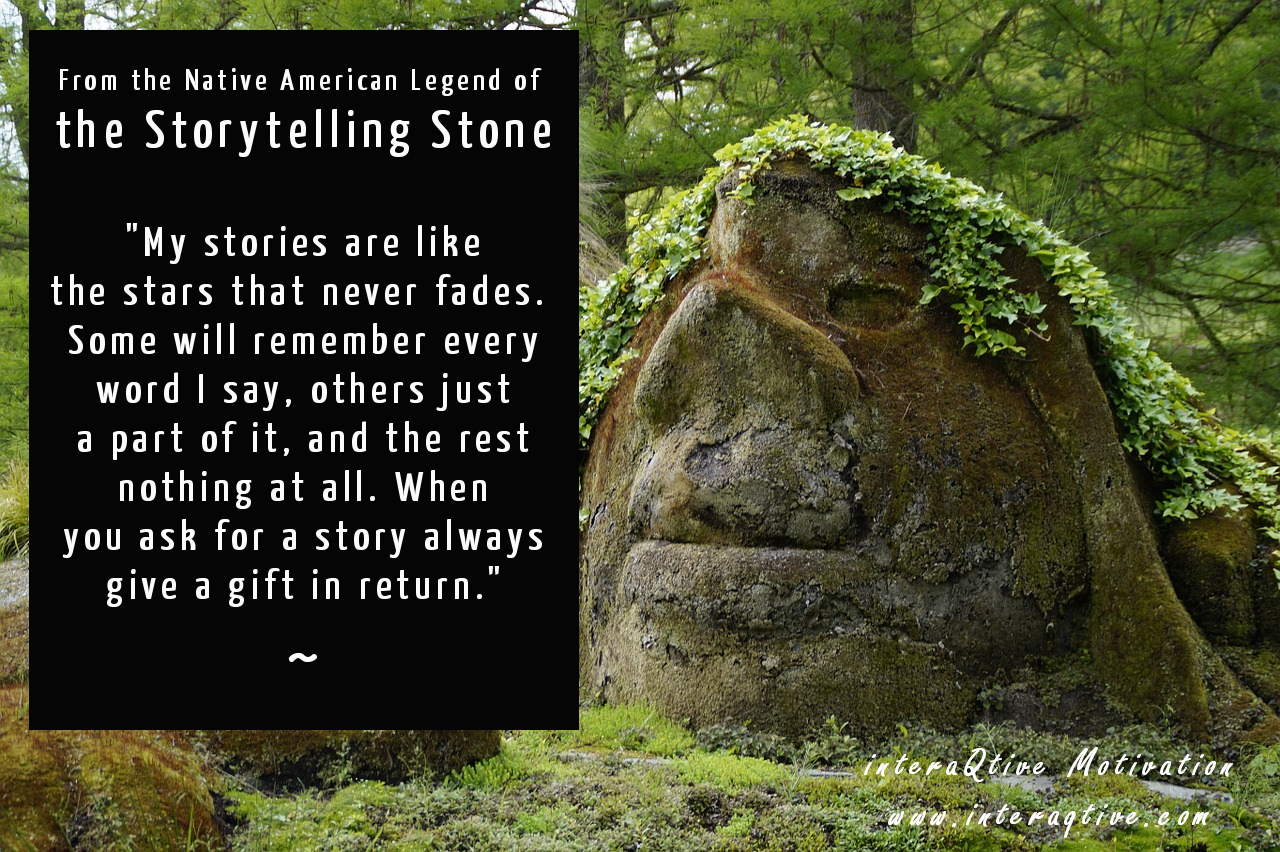 The power of storytelling and its origins – #MondayMotivation