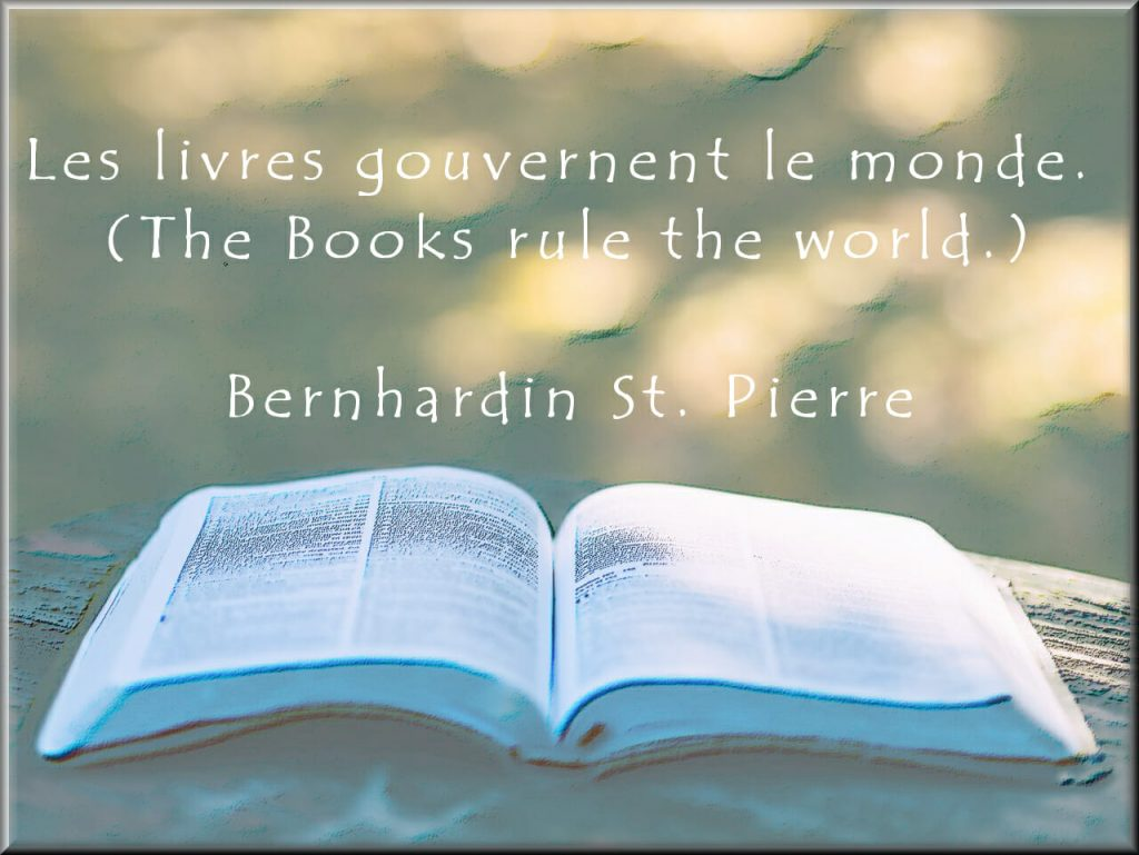 Books rule the world