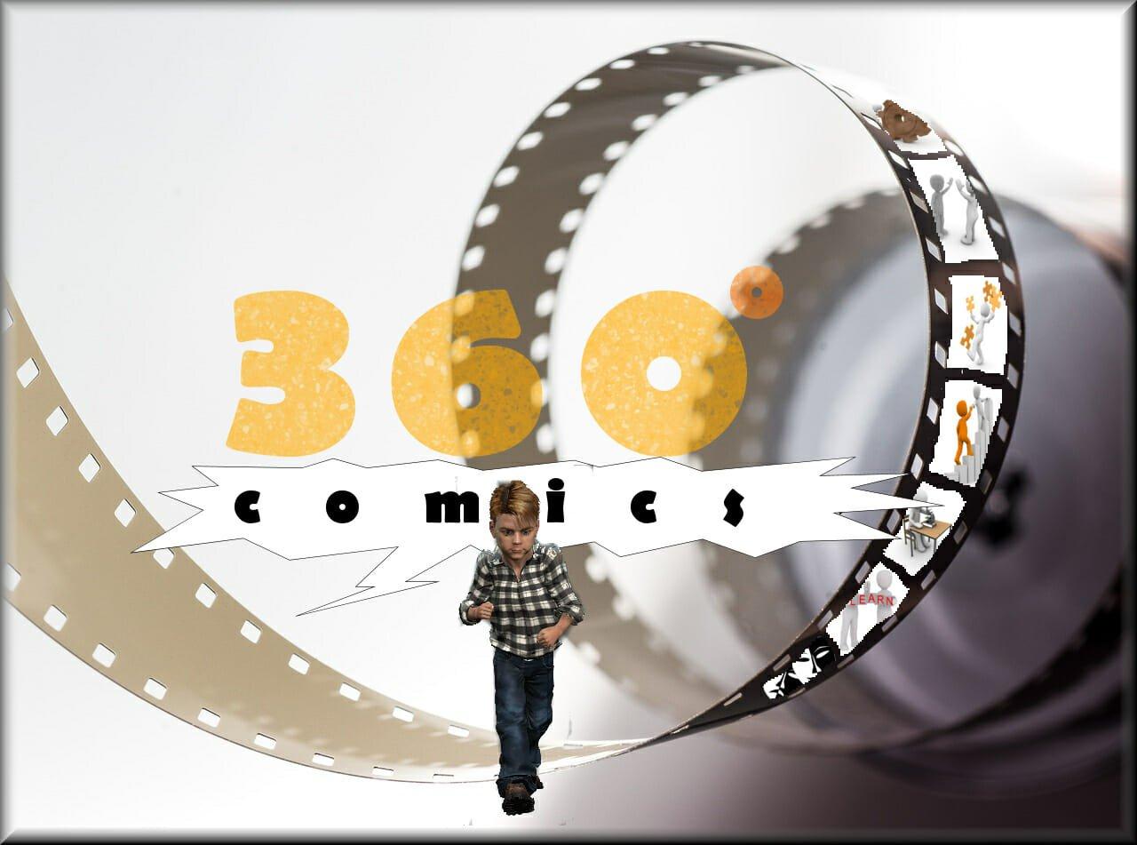 Gränsfararebloggen med 360 graders seriemagasin