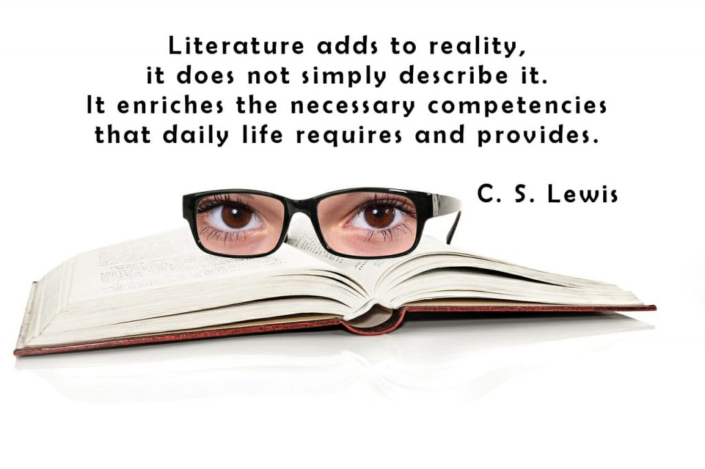 C.S. Lewis on the power of literature and new books